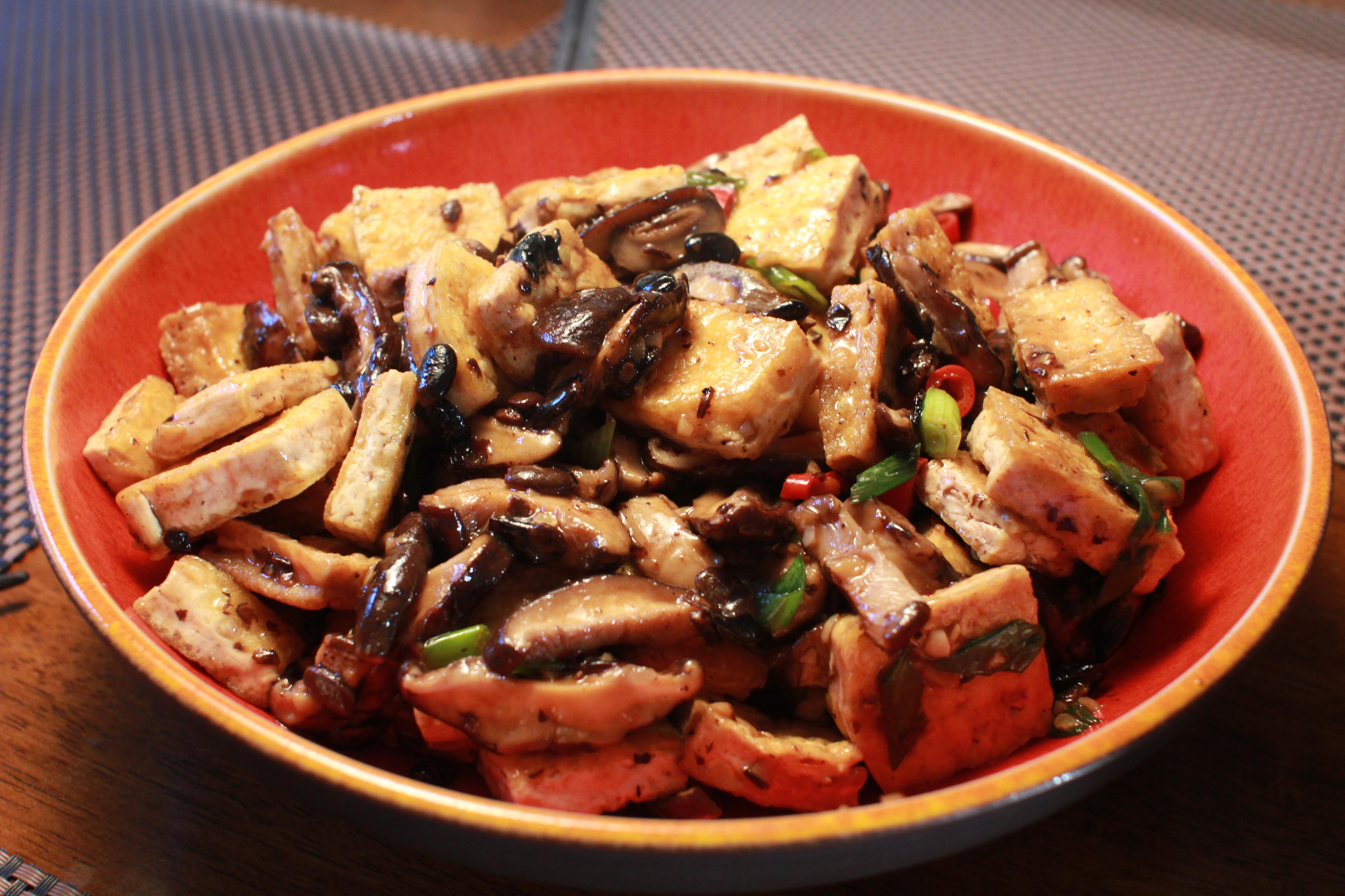 vegetarian hunan style tofu california cookbook chinese hunan tofu