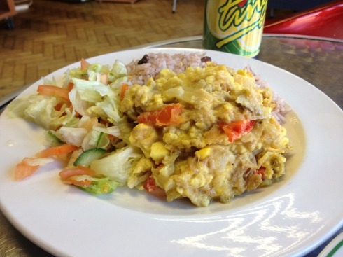 ackee-codfish
