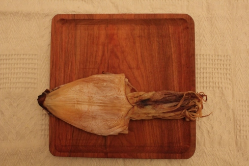 squid dried