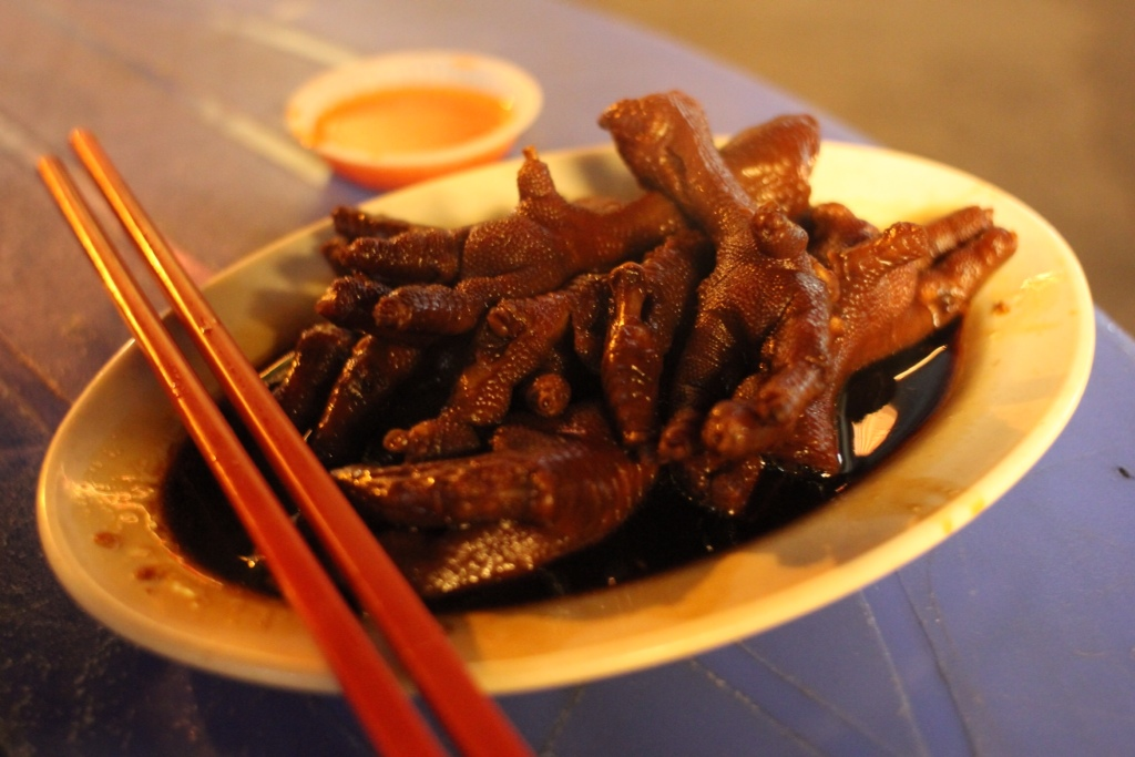 Welcome To Penang Here Are Your Chicken Feet The Lemurs Are Hungry